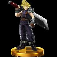 Trofeo de Cloud SSB4 (Wii U)