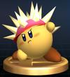 Trofeo de Kirby Erizo SSBB