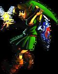 Young Link Majora Mask