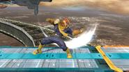 Ataque normal de Captain Falcon (5) SSB4 (Wii U)