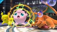 Jigglypuff usando Canto SSB4 (Wii U)