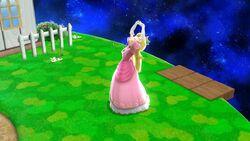Pose de espera Peach (3) SSB4 Wii U