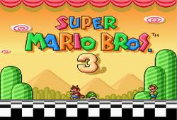 Título Super Mario Bros. 3