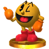 Trofeo de PAC-MAN SSB4 (3DS)