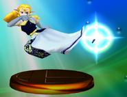Trofeo de Zelda (Smash 2) SSBM