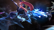 Créditos Modo Senda del guerrero Greninja SSB4 (Wii U)