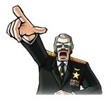 Pegatina de Commander Kahn SSBB