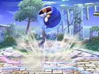 Ataque Smash superior Sonic SSBB