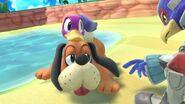 Dúo Duck Hunt y Falco en Isla Tórtimer SSBU