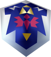 Escudo Hyliano OoT