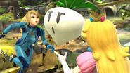 Peach usando Verdura SSB4 (Wii U)