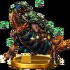 Trofeo de Reina Metroide SSB4 (Wii U)