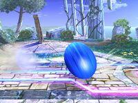 Ataque Smash inferior Sonic SSBB (1)