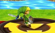 Burla inferior Toon Link SSB4 (3DS) (1)