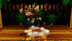 Cabezazo en salto (1) SSB4 (Wii U)