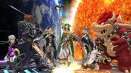 Créditos Modo Senda del guerrero Corrin SSB4 (Wii U)