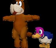 Pose T Duck Hunt SSB4 (Wii U)