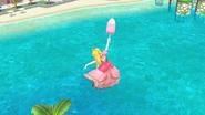 Sombrilla de Peach (2) SSB4 (Wii U)