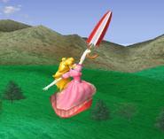 Sombrilla de Peach (objeto) (1) SSBM