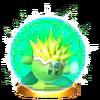 Trofeo de Kirby Plasma SSB4 (3DS)