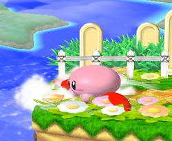 Ataque de recuperación desde el borde 100% de Kirby SSBM