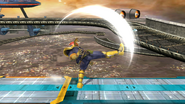 Ataque fuerte superior de Captain Falcon (2) SSB4 (Wii U)