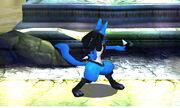 Burla lateral Lucario SSB4 (3DS)