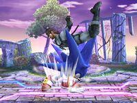 Lanzamiento superior Sonic SSBB