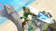 Link ataque circular SSB4 (Wii U)