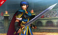 Marth en el Coliseo Regna Ferox - (SSB. for 3DS)