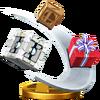Trofeo de Cajas rodantes SSB4 (Wii U)