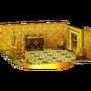 Trofeo de Interior dorado SSB4 (3DS)