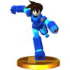 Trofeo de MegaMan Volnutt SSB4 (3DS)