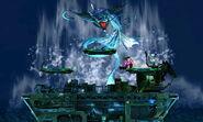 Aparición de Leviatán en Midgar SSB4 (3DS)
