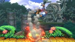 Barriles incendiarios (2) SSB4 (Wii U)