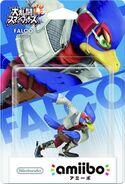 Embalaje del amiibo de Falco (Japón)