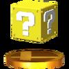 Trofeo de Bloque de interrogación SSB4 (3DS)