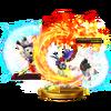 Trofeo de Golpe critico (Roy) SSB4 (Wii U)