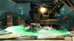 Ataque de recuperación desde el suelo Cloud SSB4 (Wii U)