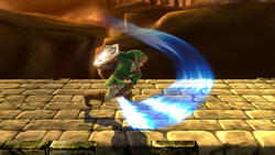 Ataque normal de Link (1) SSB4 (Wii U)