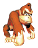 Pegatina de Donkey Kong en DK Country SSBB