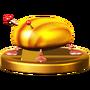 Trofeo de Escarabajo de oro iridiscente SSB4 (Wii U)