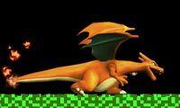 Agarre en carrera de Charizard SSB4 (3DS)
