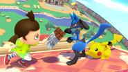 Créditos Modo Leyendas de la lucha Lucario SSB4 (Wii U)