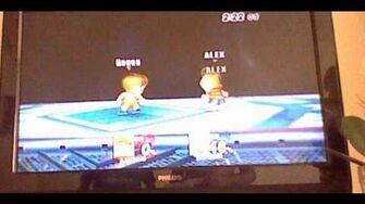 Glitch Super palo de Lucas variante Lucas