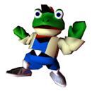 Pegatina Slippy Toad (Star Fox 64) SSBB