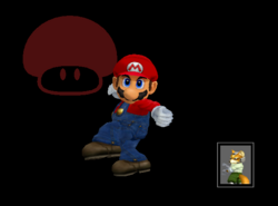 Pose de victoria Mario (3) SSBM