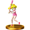 Trofeo de Peach (bateadora) SSB4 (Wii U)