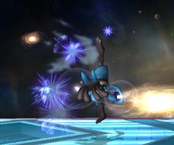 Ataque fuerte hacia arriba Lucario SSBB (1)
