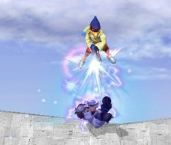 Lanzamiento hacia abajo de Falco (3) SSBM